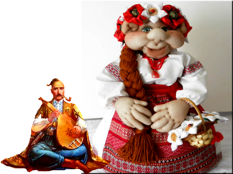 МК по кукле украинке