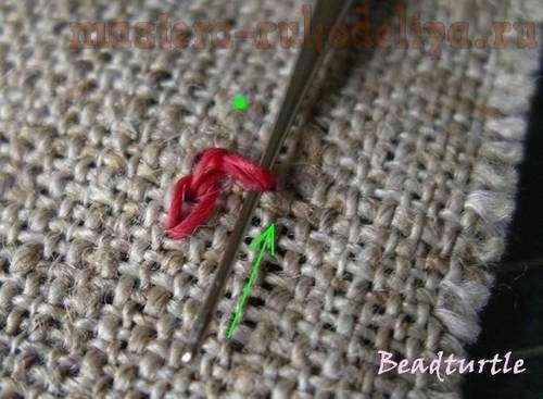 Бисерная вышивка обычным крючком для вязания (мастер-класс)
