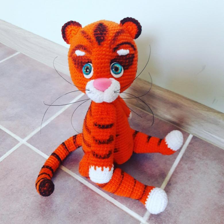 Тигрята Амигуруми
