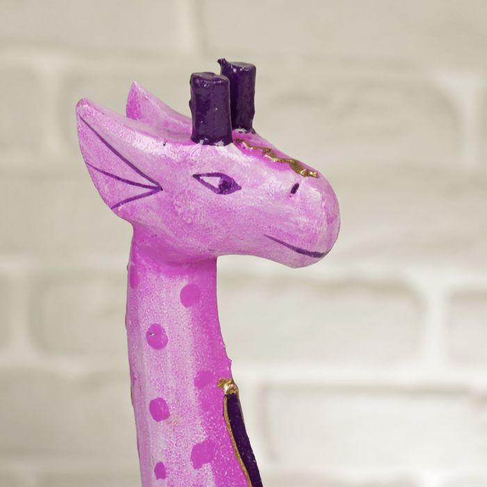 Описание сиреневого жирафика)