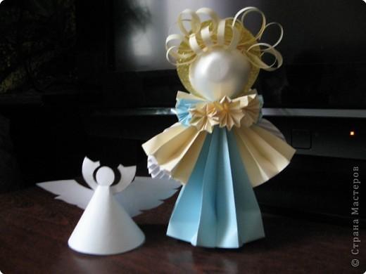 Ангелочки из бумаги в технике «кусудама». Видео МК