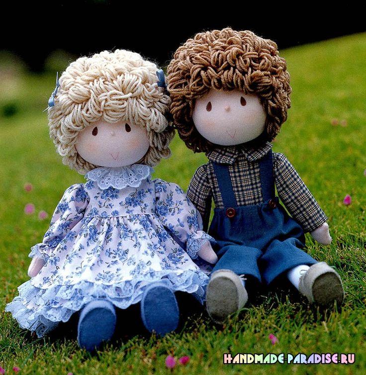 Текстильные куклы. Журнал