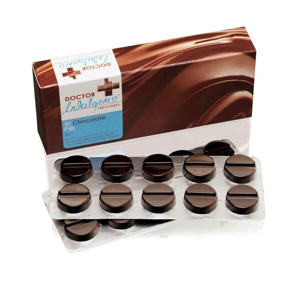 Тёмный шоколад — универсальное лекарство.