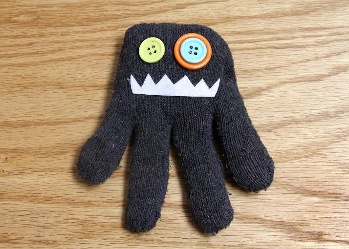 Куколки из перчаток