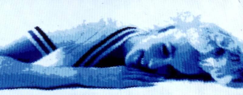Картины,связанные крючком от Тодда Пашаля