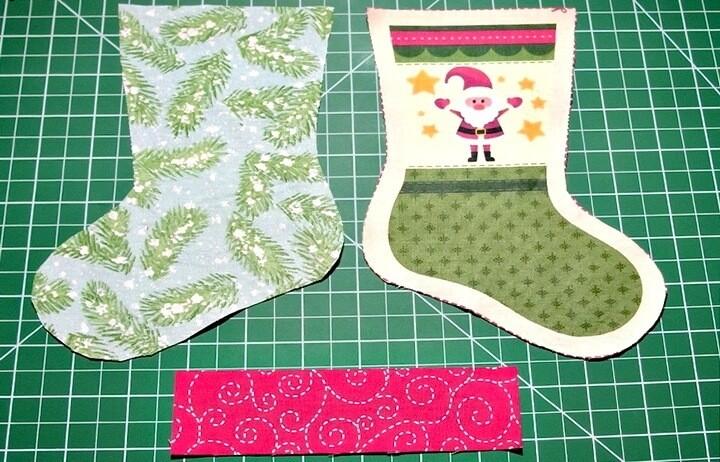 Как сделать новогодний носок для подарков?