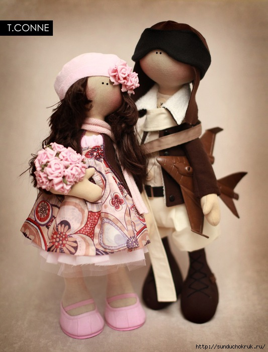 Куклы с большими головами своими руками